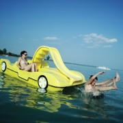 Vízi bicikli, kajak, kenu, vízistrandeszközök: